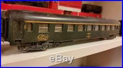 Lot de Trains 15 voitures JOUEF 1 Hornby, 1 Meccano + déco maquette + rails