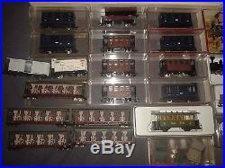 Lot magnifique train/wagon/locomotive cockerill JOUEF EGGER-BAHN LILIPUT H0 TBE