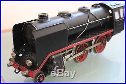 MARKLIN échelle O LOCOMOTIVE 220 à vapeur mécanique ORIGINAL 1938/55 Tin plate