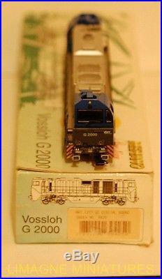 MEHANO LOCOMOTIVE DIESEL VOSSLOH G2000 DC DIGITAL F4-4