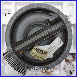 Magnifique Pont Tournant Electrique Fleischmann 6651 Quasi Neuf