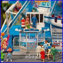 Manège Bateau bascule Fun Schiff (Motorisé) Fête Foraine-HO-1/87-FALLER 1404