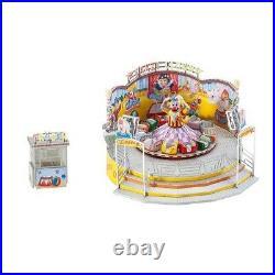 Manège Crazy Clown (Motorisé) Fête Foraine-HO-1/87-FALLER 140424