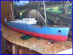 Maquette bateau la ville d'Alger 1/87 HO
