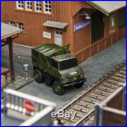 Mercedes Unimog U406 Camouflage RC-HO 1/87-CARSON 500504127