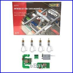 Motorisation pour Portique à containers-HO 1/87-FALLER 180290