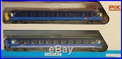 PIKO 58652 set de 2 voitures LUNEA 1ere CL ET Service
