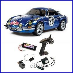 Pack Alpine Renault A110 MC 71 M06 2WD Electrique 1/10 TAMIYA 58591 PCK