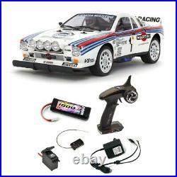 Pack Lancia 037 Rally TA02S 4WD Kit 1/10 TAMIYA 58654 PCK