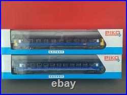 Piko 58652 HO set de 2 voitures Corails Lunea couchettes SNCF