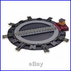 Pont tournant électrique 14 voies -HO-1/87-HORNBY R070