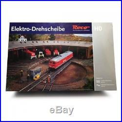 Pont tournant électrique 40 voies-HO 1/87-ROCO 42615 OC1200