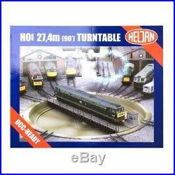 Pont tournant électrique fosse patinée-HO1/87-HELJAN 89121