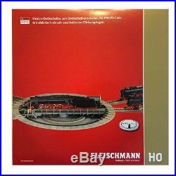 Pont tournant électrique 48 voies-HO-1/87-FLEISCHMANN 6152