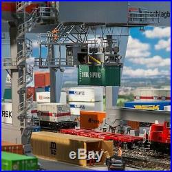 Portique à containers gare de transbordement-HO 1/87-FALLER 120290