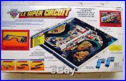 RARE Vintage 1980s Galoob Micro Machines CIRCUIT ROUTIER ELECTRIQUE SLOT CARS