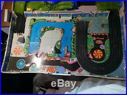 RARE Vintage 1990 Galoob Micro Machines CIRCUIT ROUTIER ELECTRIQUE SLOT CARS