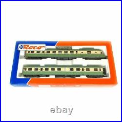 ROCO 43038.1 Autorail RGP X2733 + XR7753 le lézard vert SNCF EP. IV