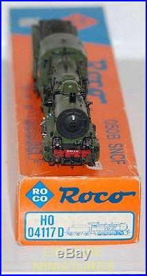 ROCO LOCOMOTIVE VAPEUR 050B SNCF DEPOT D'ALES F4-6