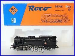 ROCO LOCOMOTIVE VAPEUR 141 TA 501 SNCF Dépot De Metz EN BOITE 04122 B
