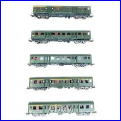 Rame de 5 voitures Romilly Sncf collection -H0 1/87- DE MASSINI V 1004 DEP312-01