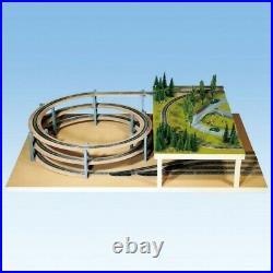 Rampe hélicoïdale 1 ou 2 voies-N-1/160-NOCH 53126