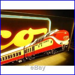 Rare 1 Enseigne Lumineuse Train Roco Ho Eclairage A Leds