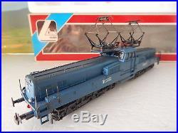 Rare Superbe Locomotive CC 14166 Lima Livre Bleu En Boite Ho