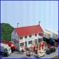 Relais routier avec station service Antar + camion-HO-1/87-SAI 169