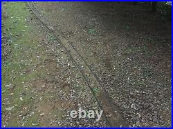 Reseau ferroviaire vapeur vive portable 5 pouce Wagon Train Jardin Voie ferree