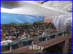 Réseau miniature ferroviaire échelle N