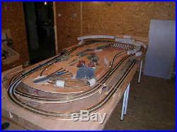 Réseau train miniature echelle n
