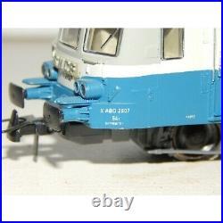 Roco Rare Superbe Autorail Xabd 2807 Lyon Ho Sans Boite