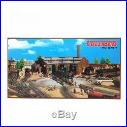 Rotonde 3 locomotives-HO-1/87-VOLLMER 45754