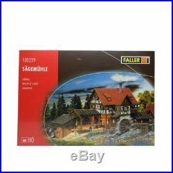 Scierie avec moulin à eau-HO-1/87-FALLER 130229