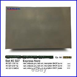 Set Express Nord, B11 B11 B4d Ep III SNCF-HO-1/87-LSMODELS 40327
