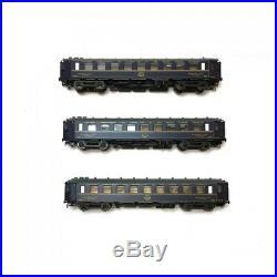 Set de 3 voitures CIWL 1937 CL1 CL2 ép II-III-HO-1/87-LSMODELS 49121