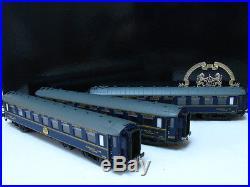 Set de 3 voitures CIWL type F époque II-IIIa LS MODELS 49 121