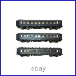 Set de 3 voitures WL F CIWL CL1 ép IV-HO-1/87-LSMODELS 49123