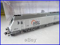 Superbe Locomotive Oskar 75101 Livrer Akiem Epoque 6 Ho Prise Decodeur