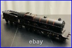 T3375 Rare Locomotive Vapeur Vive Bing Type Atlantic 221 Ecart. III 67mm 80cm
