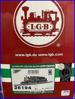 T680 Lgb 26194 Locomotive Tender Rio Grande 248 Comme Neuve Boite Origine