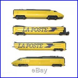 TGV 4 éléments La Poste Hirondelle SNCF digital son-HO 1/87-JOUEF HJ2357S