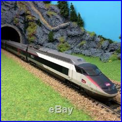 TGV 4 éléments sud-est rénové nouvelle livrée Sncf ép VI-HO-1/87-JOUEF HJ2231
