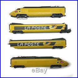 TGV La poste Sncf digitale son 3 rails -HO-1/87-HJ2064 DEP2-71