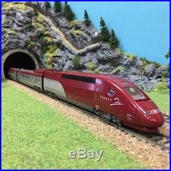 TGV Thalys 7 éléments AC Marklin 3 rails occasion-HO-1/87-MEHANO DEP17-38