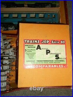 TRAIN JEP série 60 super moteur A. P. 5 + boite d'origine