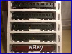 Train MTH coffret ocem ech 0 SNCF 1960 roues épaisses 3 rails