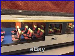 Très Grand Wagon SNCF train En Métal WAGON CORAIL 130 Cm X 21 Cm