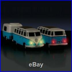 VW Combi Split Samba + Caravane RC-HO-1/87-CARSON 500504122